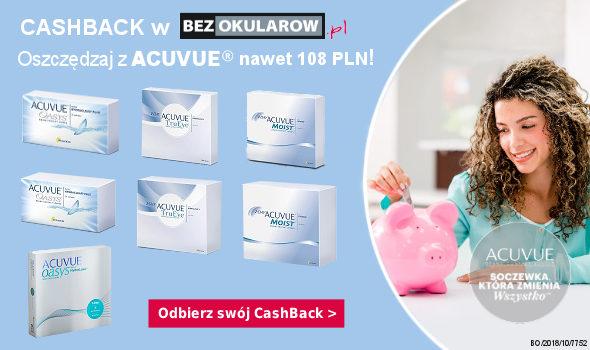 CashBack z ACUVUE - nawet 108 PLN zwrotu!