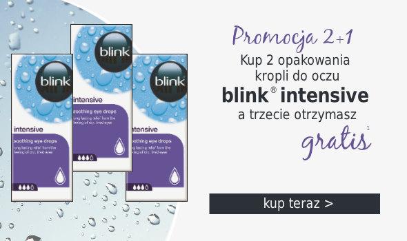2+1: Kup 2 op. kropli blink intensive a trzecie dostaniesz gratis!