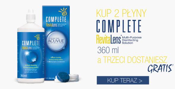 Kup 2 płyny Complete Revitalens 360 ml a trzeci o tej samej pojemności dostaniesz GRATIS!