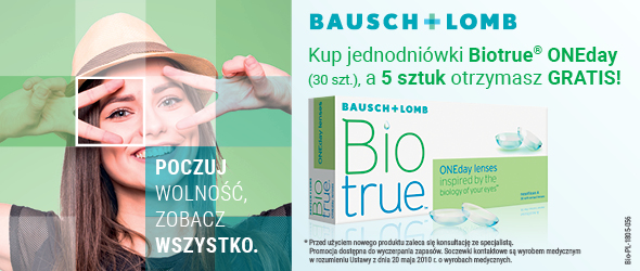 Kup BioTrue ONEday 30 szt. i odbierz 5 szt. GRATIS!