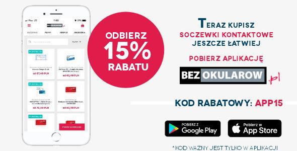 -15% na Soczewki Kontaktowe!