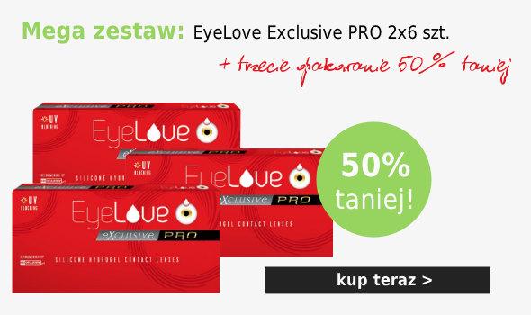 Kup zestaw: 2 op. EyeLove Exclusive PRO + trzecie 50% taniej!