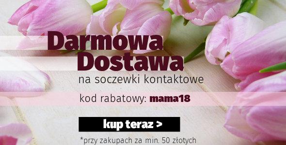 Darmowa Dostawa na Soczewki Kontaktowe!