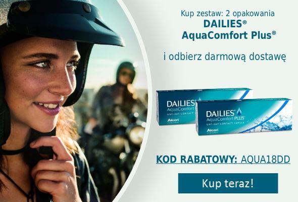 Kup Dailies AquaComfort PLUS z darmowÄ… dostawÄ…!
